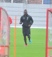 Mario Balotelli - Liverpool - 25-08-2014 - Primo allenamento di Balotelli a Liverpool