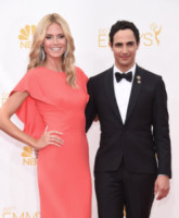 Zac Posen, Heidi Klum - Los Angeles - 25-08-2014 - Emmy Awards 2014: la kermesse regala un red carpet extra lusso