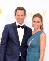 Alexi Ashe, Seth Meyers - Los Angeles - 26-08-2014 - Emmy Awards 2014: la kermesse regala un red carpet extra lusso