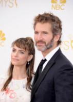 Amanda Peete, David Benioff - Los Angeles - 26-08-2014 - Emmy Awards 2014: la kermesse regala un red carpet extra lusso