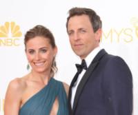 Alexi Ashe, Seth Meyers - Los Angeles - 25-08-2014 - Emmy Awards 2014: la kermesse regala un red carpet extra lusso