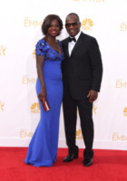Julius Tennon, Viola Davis - Los Angeles - 25-08-2014 - Emmy Awards 2014: la kermesse regala un red carpet extra lusso