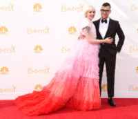 Jack Antonoff, Lena Dunham - Los Angeles - 25-08-2014 - Emmy Awards 2014: la kermesse regala un red carpet extra lusso