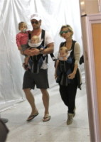 Chris Hemsworth, Elsa Pataky - Los Angeles - 25-08-2014 - Charlene avrà due gemelli: quante star come lei!