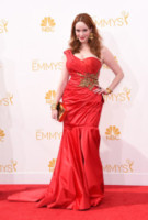 Christina Hendricks - Los Angeles - 25-08-2014 - Emmy Awards 2014: la kermesse regala un red carpet extra lusso