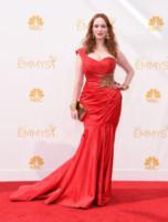 Christina Hendricks - Los Angeles - 25-08-2014 - Emmy Awards 2014:lo strascico, il classico che non tradisce mai
