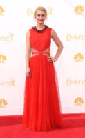Claire Danes - Los Angeles - 25-08-2014 - Emmy Awards 2014: è il rosso il colore dominante