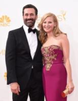 Jon Hamm, Jennifer Westfeldt - Los Angeles - 25-08-2014 - Emmy Awards 2014: la kermesse regala un red carpet extra lusso