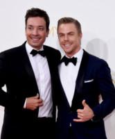 Derek Hough, Jimmy Fallon - Los Angeles - 25-08-2014 - Emmy Awards 2014: la kermesse regala un red carpet extra lusso