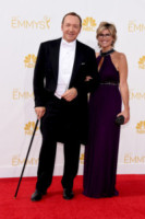 Ashleigh Banfield, Kevin Spacey - Los Angeles - 25-08-2014 - Emmy Awards 2014: la kermesse regala un red carpet extra lusso