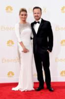 Lauren Parsekian, Aaron Paul - Los Angeles - 25-08-2014 - Emmy Awards 2014: la kermesse regala un red carpet extra lusso