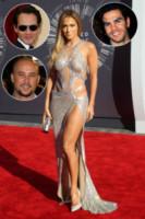 Marc Anthony, Ojani Noa, Cris Judd, Jennifer Lopez - Inglewood - 24-08-2014 - Famiglie vip: quanti padri per una sola mamma