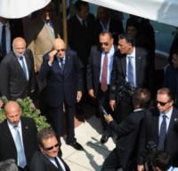 Giorgio Napolitano - Lido di Venezia - 27-08-2014 - Festival di Venezia: arriva tra gli applausi Giorgio Napolitano