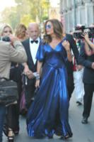 Alessandro Sallusti, Daniela Santanchè - Venezia - 27-08-2014 - Festival di Venezia: le prime ore al Lido delle star italiane