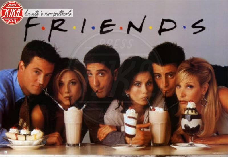 Matt LeBlanc, David Schwimmer, Lisa Kudrow, Matthew Perry, Courteney Cox, Jennifer Aniston - 03-10-2012 - Friends: 23 anni fa veniva trasmessa la prima puntata