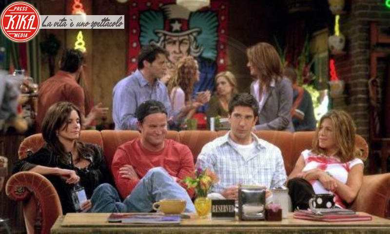 David Schwimmer, Courteney Cox, Jennifer Aniston - 03-10-2012 - Friends: 23 anni fa veniva trasmessa la prima puntata