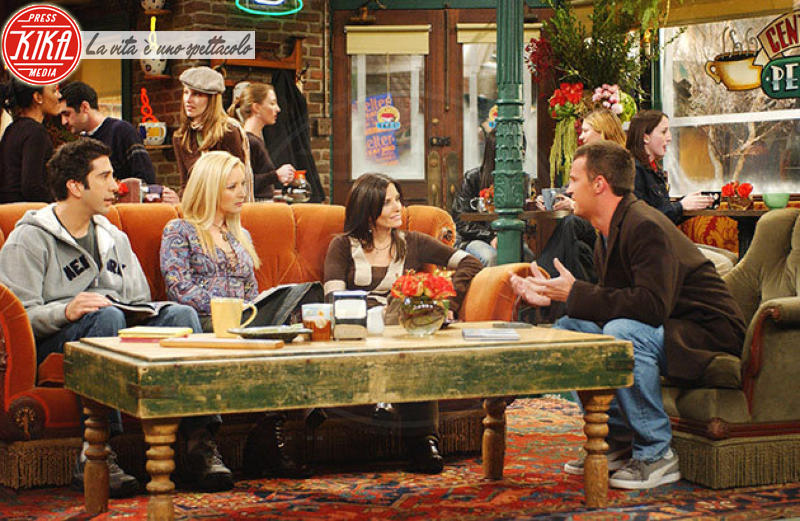 David Schwimmer, Matthew Perry, Courteney Cox, Jennifer Aniston - 03-10-2012 - Le quote rosa di Friends pensano alla reunion