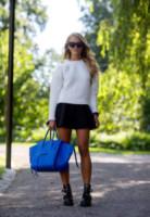 Janni Delér - Stoccolma - 27-08-2014 - Le celebrity ne vanno matte: è la Celine Luggage Tote Bag!