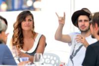 Valentina Reggio, Clement Metayer - Venezia - 28-08-2014 - Festival di Venezia: ecco a voi il gioco delle coppie