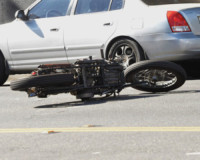 Motocicletta, David Beckham - Los Angeles - 28-08-2014 - Paura per David Beckham: incidente in moto