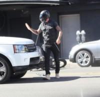 Motocicletta, David Beckham - Los Angeles - 28-08-2014 - Paura per David Beckham: incidente in moto