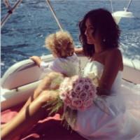 Caterina Balivo - Capri - 30-08-2014 - Amal e George: Hello! e People svelano l'abito della sposa