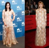 Zhao Wei, Bella Thorne - Venezia - 01-09-2014 - Zhao Wei e Bella Thorne: chi lo indossa meglio?