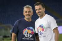 Roberto Baggio, Alessandro Del Piero - Roma - 02-09-2014 - Tanti auguri Divin Codino, Roberto Baggio compie 50 anni