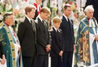 Principe Carlo d'Inghilterra, Charles Spencer, Principe William, Principe Harry - Londra - 06-09-1997 - Principe Harry: i 30 anni dello scapolo più ambito al mondo