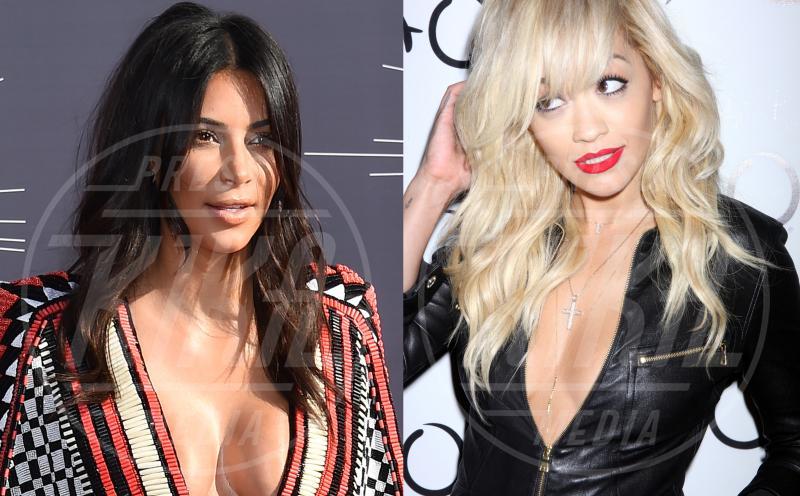 Rita Ora, Kim Kardashian - 02-09-2014 - Amici mai, per chi si odia come noi!