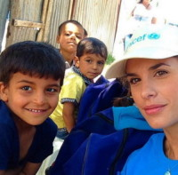 Elisabetta Canalis - Los Angeles - 03-09-2014 - Donne per un mondo migliore: Victoria Beckham ambasciatrice ONU