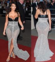Kim Kardashian - Londra - 03-09-2014 - Vade retro abito! Le curve pericolose di Kim Kardashian