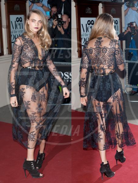Cara Delevingne - Londra - 03-09-2014 - Alessia Marcuzzi: sotto il vestito – e l'Isola – niente!