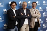Gian Luca Farinelli, Davide Pozzi, Marco Bellocchio - Venezia - 03-09-2014 - Festival di Venezia: Marco Bellocchio presenta La Cina è Vicina