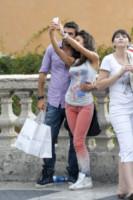 Gianluca Tozzi, Raffaella Fico - Roma - 03-09-2014 - Fico-Tozzi, un selfie da veri innamorati