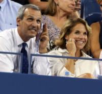 John Molner, Katie Couric - New York - 03-09-2014 - Leonardo DiCaprio in incognito agli US Open
