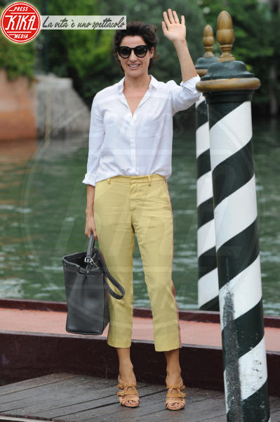 Luisa Ranieri - Lido di Venezia - 04-09-2014 - Festa della donna? Quest'anno la mimosa indossala!