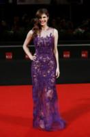 Alexandra Daddario - Venezia - 04-09-2014 - Il red carpet sceglie il colore viola. Ma non portava sfortuna?