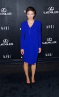 Maggie Gyllenhaal - New York - 04-09-2014 - Accendi l'autunno con il blu elettrico!