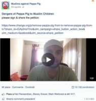 "Muslims against Peppa, Peppa Pig - 05-09-2014 - ""Muslims against Peppa Pig"": un padre lancia una petizione"