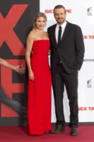 Jason Segel, Cameron Diaz - Munich - 05-09-2014 - Sex Tape: Cameron Diaz in rosso per il red carpet