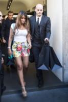 Antonella Roccuzzo - Milano - 06-09-2014 - È arrivato il caldo: gambe al fresco con gli shorts!