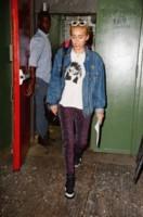 Miley Cyrus - New York - 07-09-2014 - Un classico che ritorna: il giubbotto di jeans