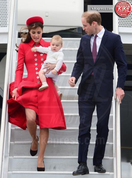 Principe George, Principe William, Kate Middleton - Wellington - 07-04-2014 - La principessa Charlene ha fatto il bis! Sono gemelli!