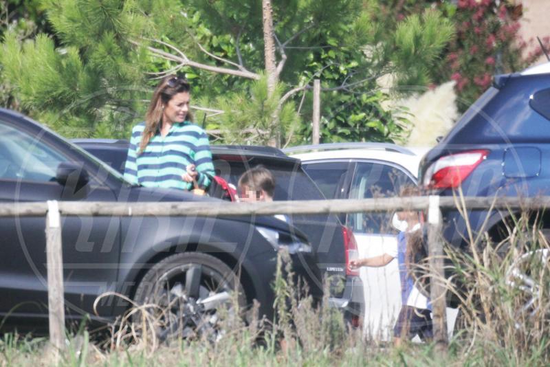 David Lee Buffon, Alena Seredova - Torino - 08-09-2014 - Alena Seredova: che bello il mestiere di mamma