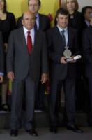 Emilio Botin, Antonio Banderas - Madrid - 12-02-2013 - Morto a Madrid Emilio Botin, banchiere e sponsor della Ferrari