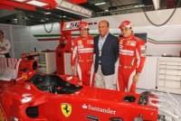 Emilio Botin, Fernando Alonso - Morto a Madrid Emilio Botin, banchiere e sponsor della Ferrari