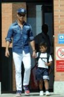 Cristiano Ronaldo jr., Cristiano Ronaldo - Madrid - 11-09-2014 - Cristiano Ronaldo ancora papà... di due gemelli!