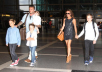 Ha, Cruz Beckham, Romeo Beckham, David Beckham, Victoria Beckham - Los Angeles - 05-07-2012 - David e Victoria Beckham: un amore lungo 17 anni