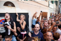 Fan - Alghero - 14-09-2014 - Elisabetta Canalis ha sposato Brian Perri